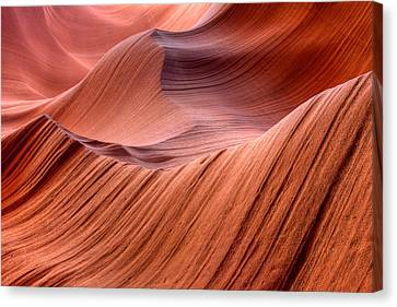 Stone Waves Canvas Print by Kiril Kirkov