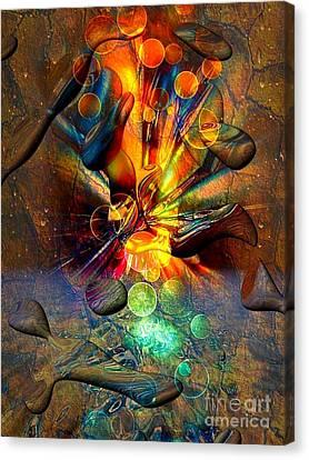 Stone World By Nico Bielow Canvas Print