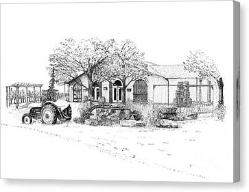 Stonechurch Winery Canvas Print