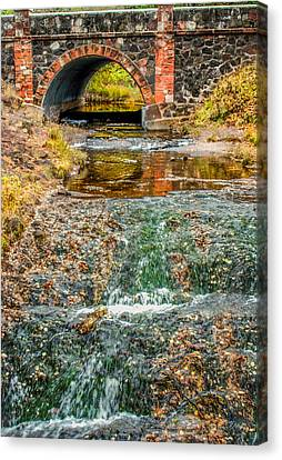 Stoned Bridge Canvas Print by Optical Playground By MP Ray