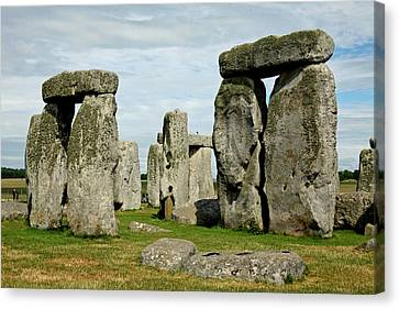 Stonehenge Canvas Print by Derek Sherwin