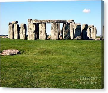 Stonehenge Canvas Print by John Potts