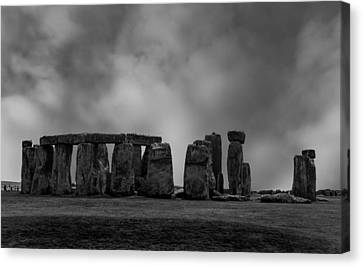 Wiltshire Canvas Print - Stonehenge by Martin Newman