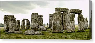 Stonehenge Panorama Canvas Print by Jon Berghoff