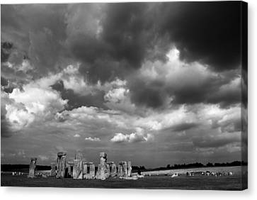 Stonehenge Canvas Print by Rajiv Chopra