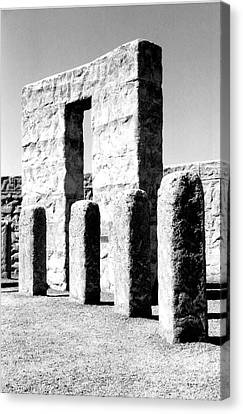 Stonehenge Replica Canvas Print by Chalet Roome-Rigdon