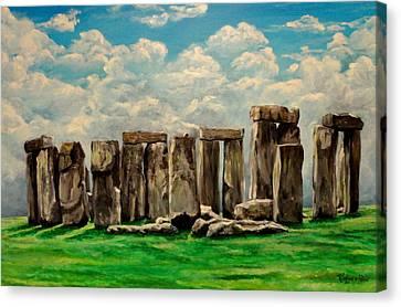 Stonehenge Canvas Print by Ruanna Sion Shadd a'Dann'l Yoder
