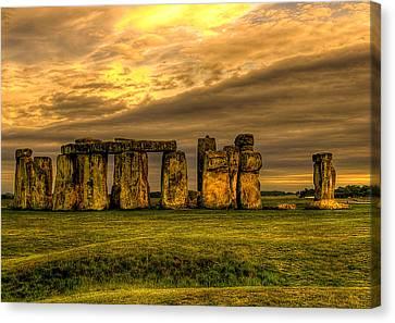 Stonehenge Canvas Print by Svetlana Sewell