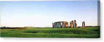 Stonehenge Wiltshire England Canvas Print by Panoramic Images