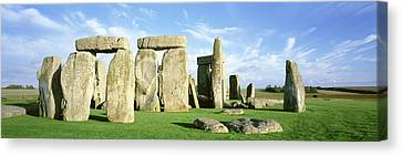 Stonehenge, Wiltshire, England, United Canvas Print by Panoramic Images