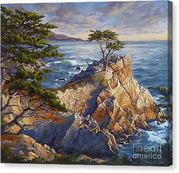 Cost Line Canvas Print - Stone's Edge by Shelley Cost