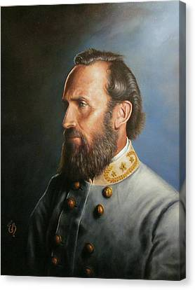 Thomas Canvas Print - Stonewall Jackson by Glenn Beasley