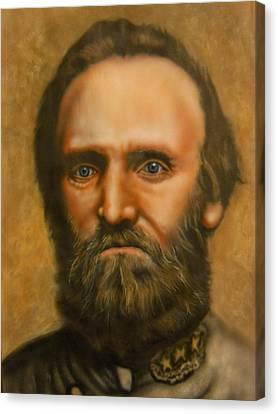 Stonewall Jackson Canvas Print by Scott Whitter