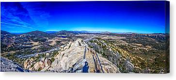 Stonewall Mountain Panorama Cuyamaca Ca Canvas Print by Will Castro