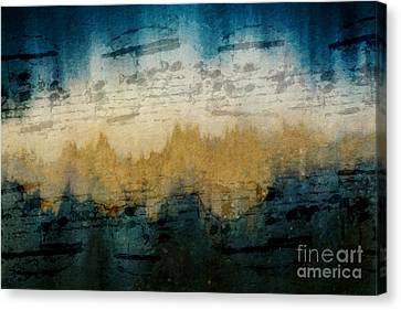 Stonewashed Blue Canvas Print by Lon Chaffin