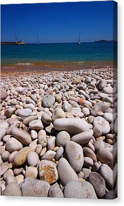 Stoney Beach Canvas Print