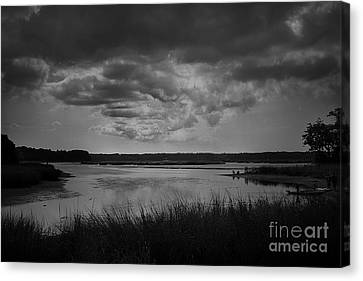 Canvas Print featuring the photograph Stony Brook Bay by Paul Cammarata