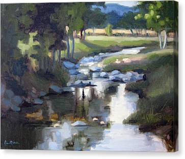 Leipers Fork Canvas Print - Stony Creek by Erin Rickelton