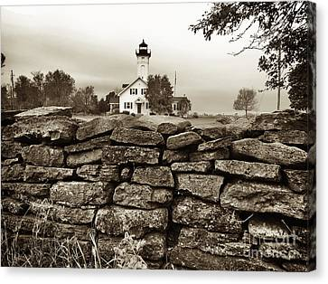 Stony Point Lighthouse Canvas Print