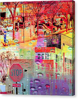 Stop In St. Louis Park Canvas Print