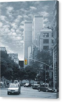 Stop Canvas Print by Mike McGlothlen