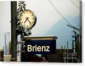 Stop Time With Art Canvas Print by Syed Aqueel