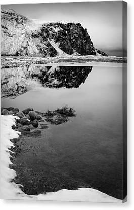 Stora Dimon Reflection Canvas Print by Dave Bowman