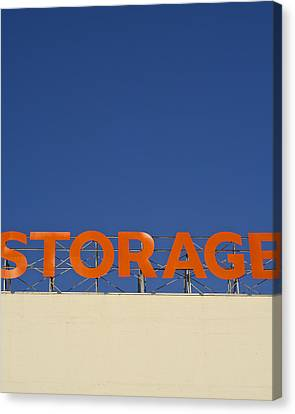 Storage Canvas Print