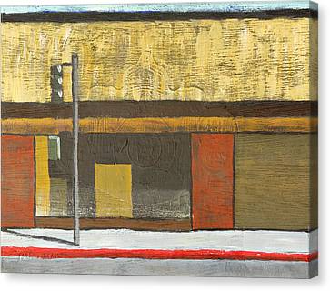 Acrylic Canvas Print - Store Closing by Michael Ward