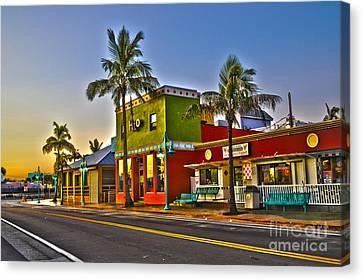 Store On Fort Myers Beach Florida Canvas Print
