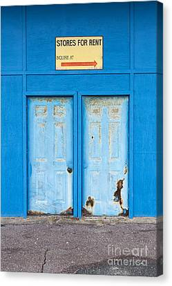 Stores For Rent Salsibury Beach Ma Canvas Print by Edward Fielding