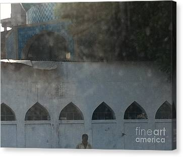 Stories Of More And Enough Canvas Print by Fareeha Khawaja