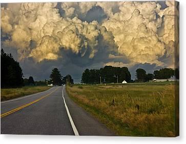 Storm Ahead Canvas Print by Benjamin Williamson