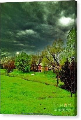 Storm Anticipation Canvas Print by PainterArtist FIN