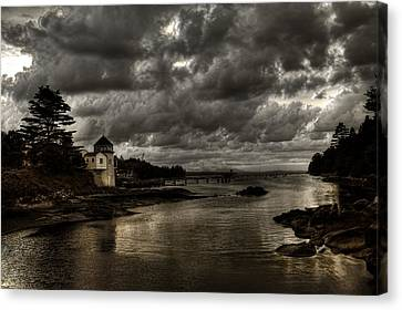 Storm Approaching Canvas Print by Greg DeBeck