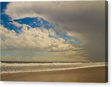 Storm Approaching Canvas Print by Karol Livote