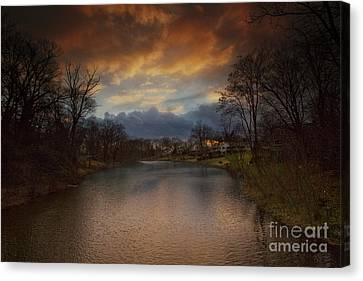 Masters Winners Canvas Print - Storm Approaching by Marco Crupi