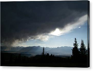 Storm Blows Over Canvas Print by Jeremy Rhoades