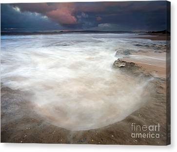 Storm Bowl Canvas Print by Mike  Dawson