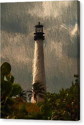 Storm Brewing Canvas Print by John K Woodruff