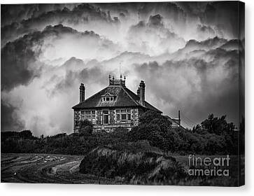 Storm Brewing Canvas Print by Svetlana Sewell