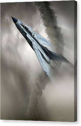 Storm Chaser Canvas Print by Peter Chilelli