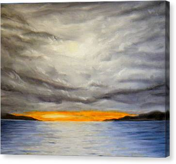 Storm Cloud Study Canvas Print