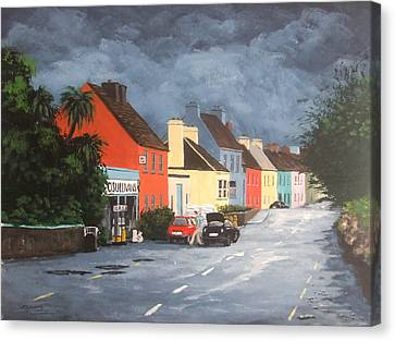 Storm Clouds, Eyeries Canvas Print by Tony Gunning