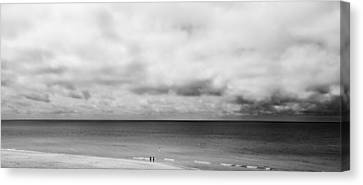 Storm Clouds In The Horizon Canvas Print by Shelby  Young