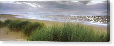 Storm Clouds Over The Sea, Newburgh Canvas Print by Panoramic Images
