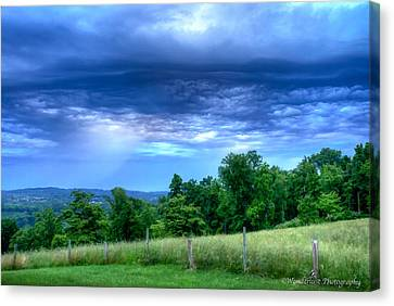 Storm Clouds Canvas Print by Paul Herrmann