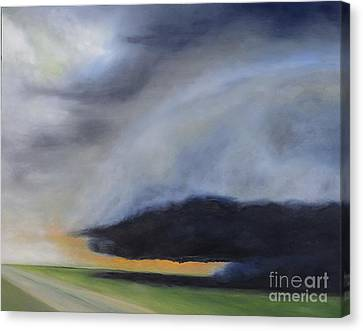 Storm Coming.. Canvas Print by Barbara Anna Knauf