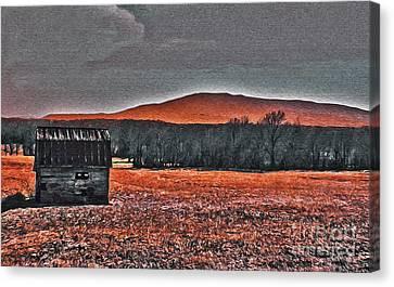 Storm Coming Canvas Print by R McLellan