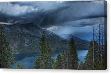 Storm Head Canvas Print by Michael Breshears